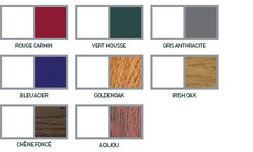 Menuiseries pvc alu de couleur blanc gris rouge hp for Menuiserie pvc couleur