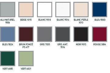 menuiseries pvc alu de couleur blanc gris rouge hp. Black Bedroom Furniture Sets. Home Design Ideas